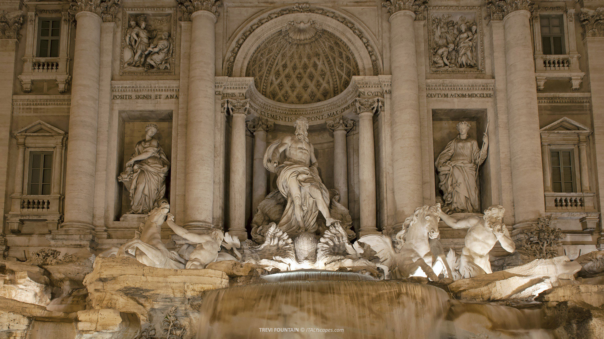 how to get to trevi fountain