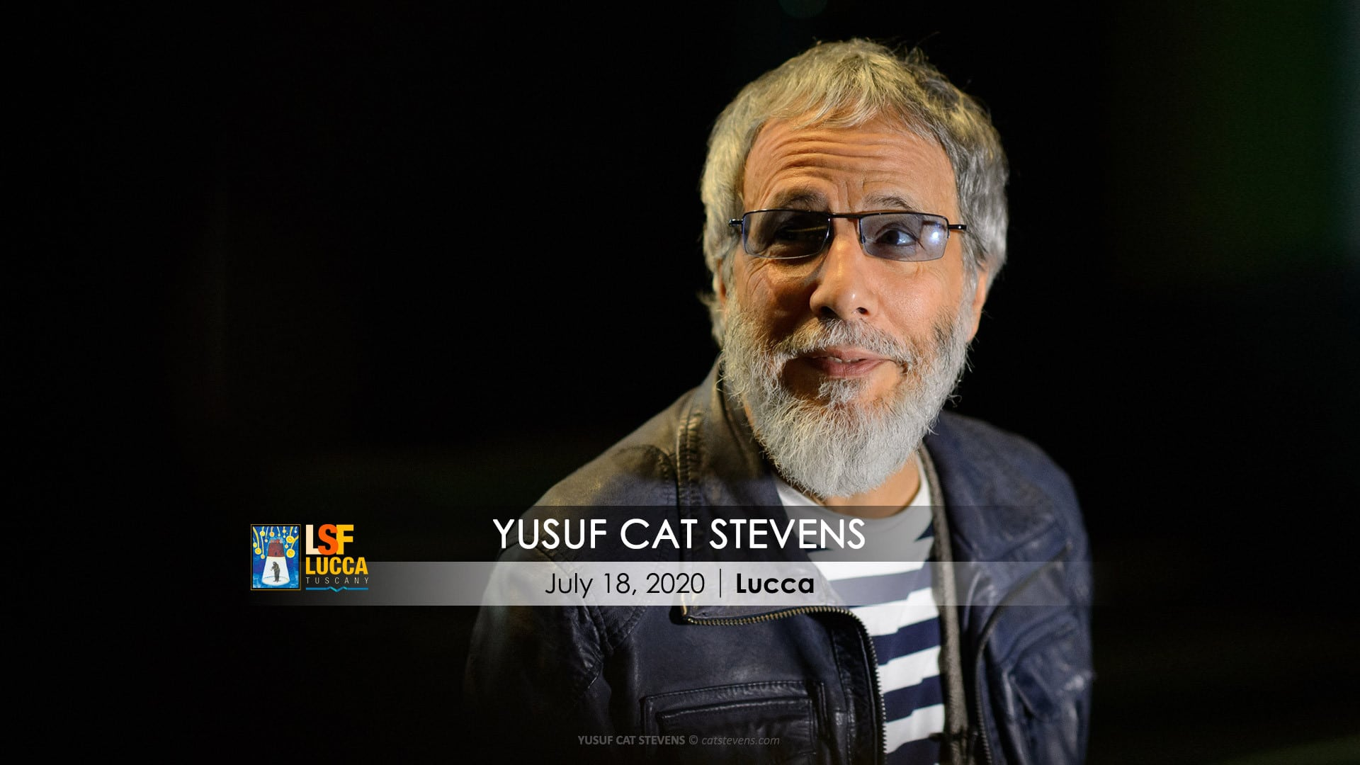 Cat Stevens Tour 2020.Yusuf Cat Stevens July 18 2020 Piazza Napoleone Lucca
