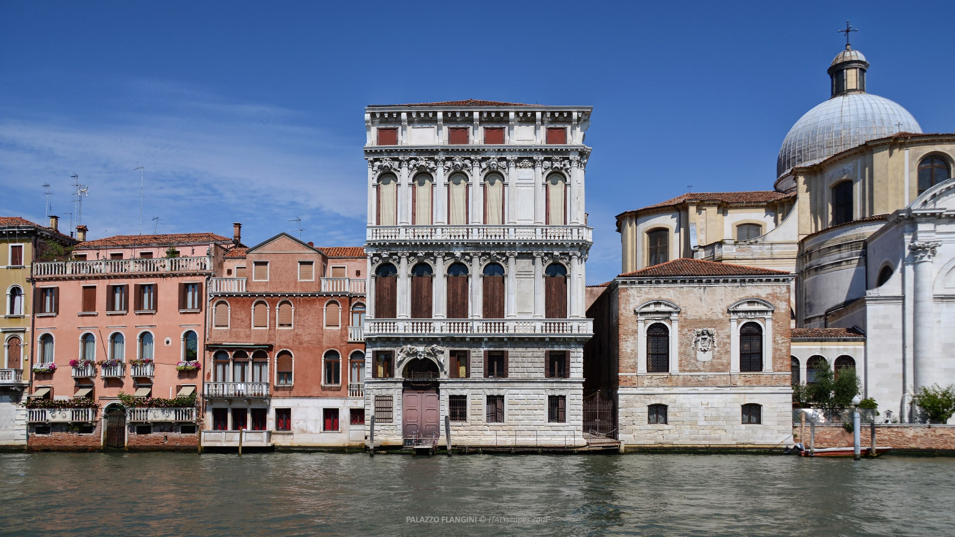 PALAZZO FLANGINI - An Interesting Palace in Venice