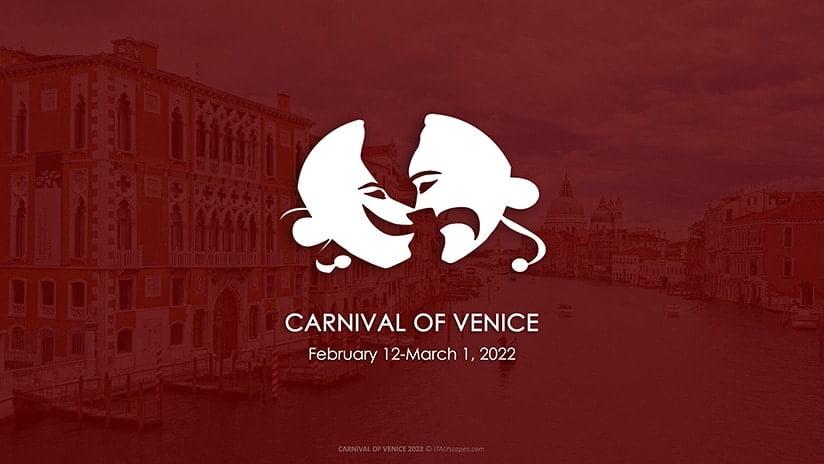 Carnival of Venice 2022